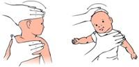 vježbe vratnih mišića za bebe