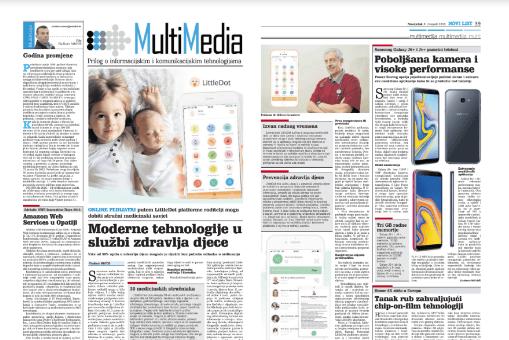 Multi Media objava o LittleDot-u - pdf izdanje