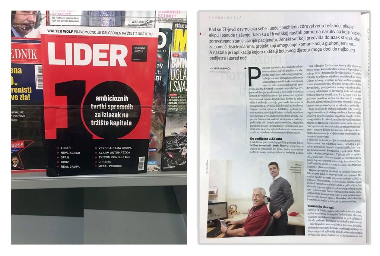 Lider - LittleDot članak - tiskano izdanje - Do pedijatra u 22 sata