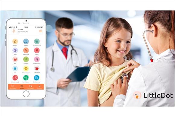 Adiva članak - LittleDot: aplikacija u službi zdravlja djece i zadovoljjnih roditelja