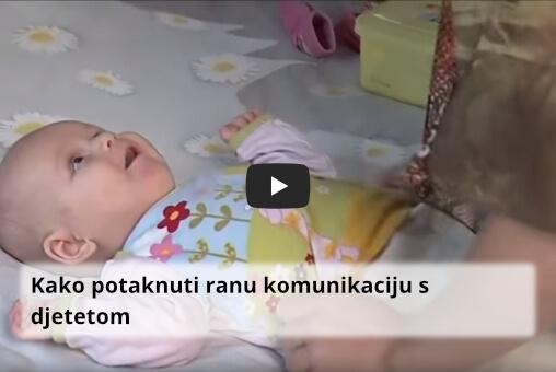 Kako potaknuti ranu komunikaciju s djetetom