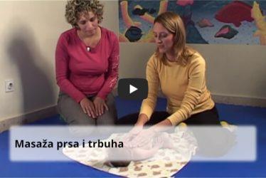 Masaža prsa i masaža trbuha