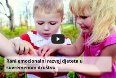Rani emocionalni razvoj djeteta