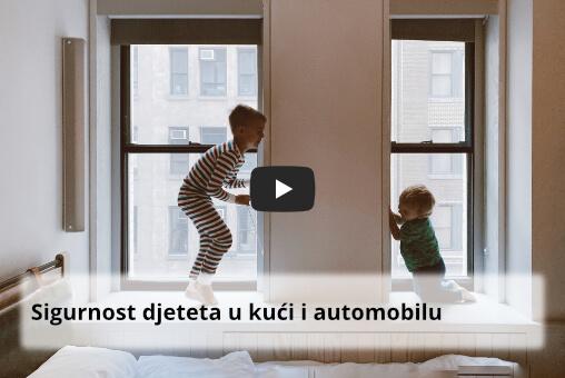 Sigurnost djeteta u kući i automobilu
