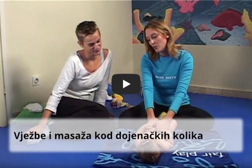 Vježbe i masaža kod dojenačkih grčeva (kolika)