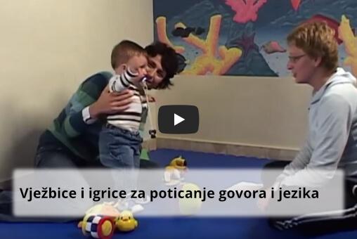 Vježbice i igrice za poticanje govora i jezika