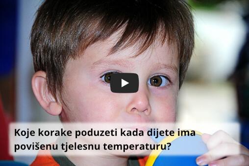 povišena tjelesna temperatura